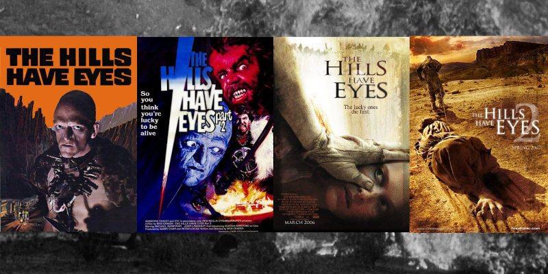 La saga Las colinas tienen ojos