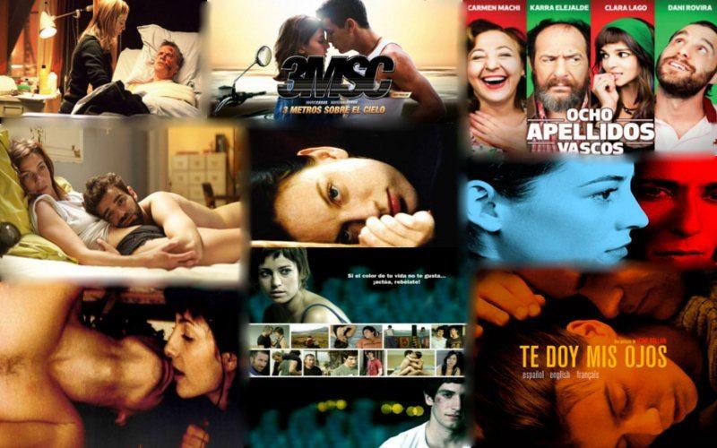 Las mejores películas españolas de amor