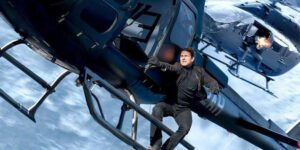 Tom Cruise escena de acción