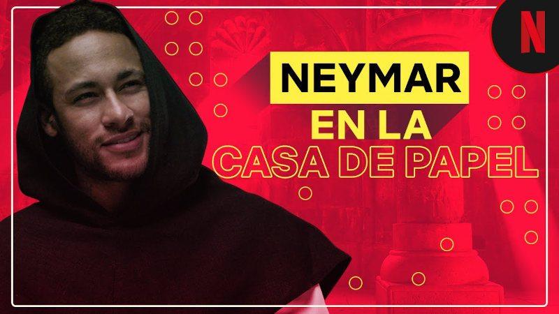 Neymar Jr hace un cameo en la casa de papel