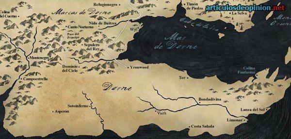 Juego de Tronos: Reino de Dorna