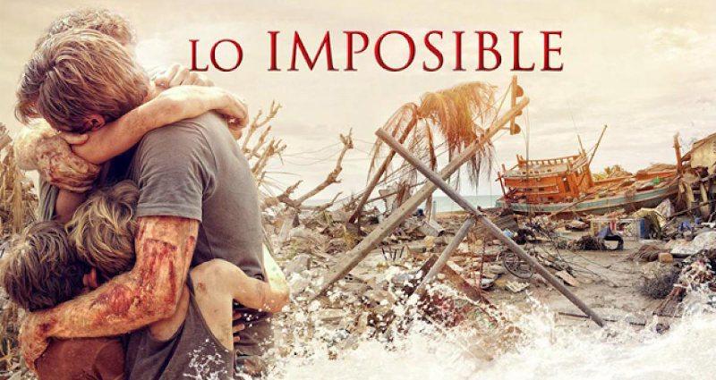 Películas españolas basadas en hechos reales: Lo imposible