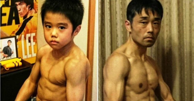Bruce Lee actor infantil