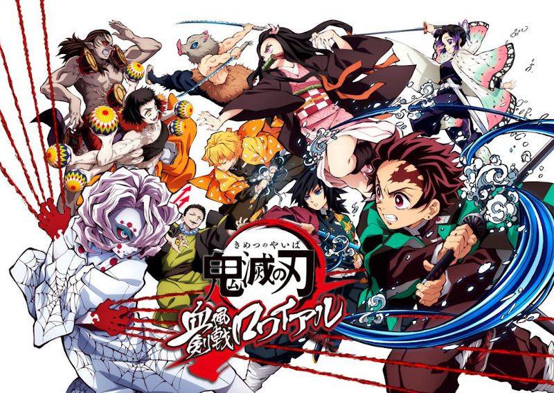 La salida de los BD/DVD de la película Kimetsu